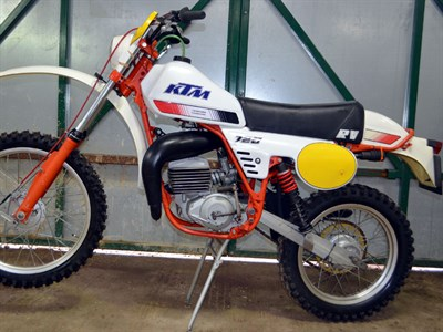 Lot 40-1980 KTM RV 125