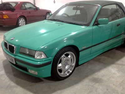 Lot 13-1998 BMW 323i Cabriolet