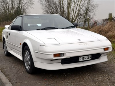 Lot 25-1989 Toyota MR2