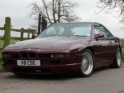 Lot 26-1999 BMW 840Ci Sport Individual