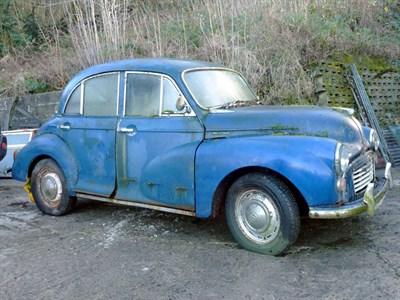 Lot 30-1964 Morris Minor 1000