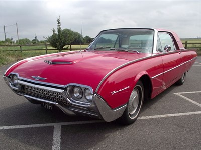 Lot 56-1962 Ford Thunderbird