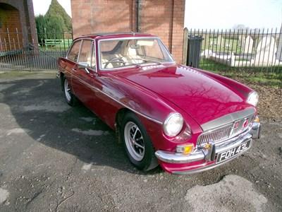 Lot 7 - 1972 MG B GT