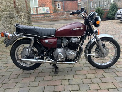 Lot 6-1976 Honda CB750A