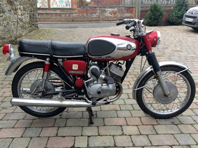 Lot 17 - c.1969 Bridgestone 175 Dual Twin