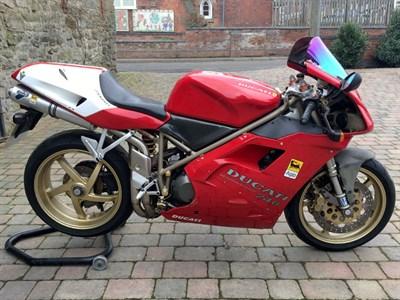 Lot 28-1996 Ducati 748 Biposto