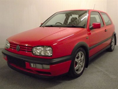 Lot 32-1997 Volkswagen Golf GTi 'Colour Concept'