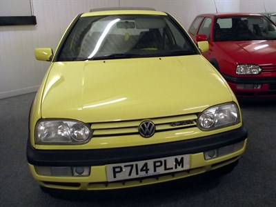 Lot 34-1997 Volkswagen Golf GTi 'Colour Concept'