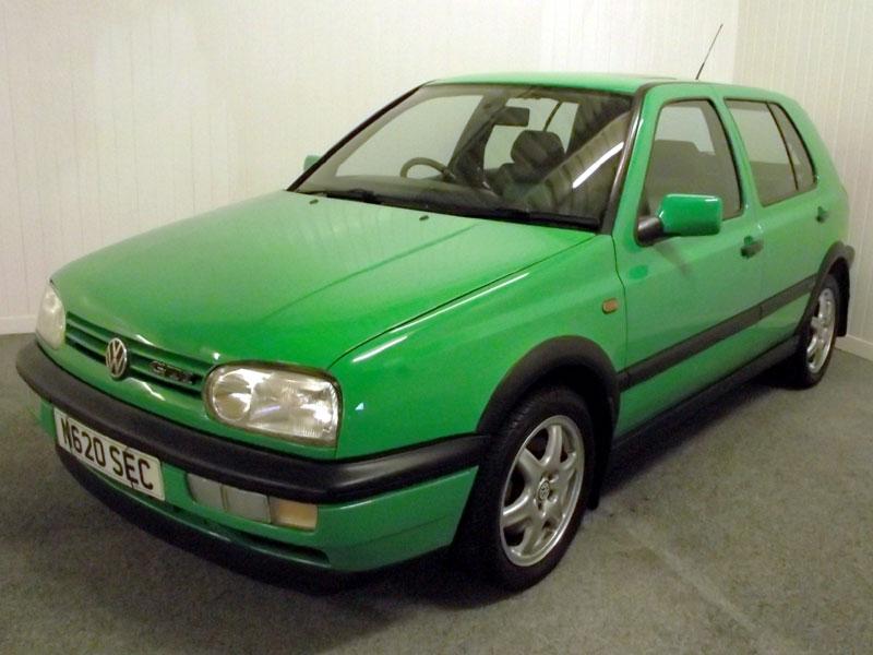 Lot 36-1996 Volkswagen Golf GTi 'Colour Concept'
