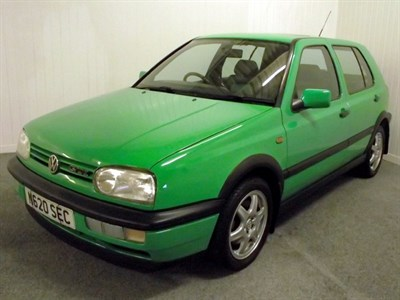 Lot 36 - 1996 Volkswagen Golf GTi 'Colour Concept'