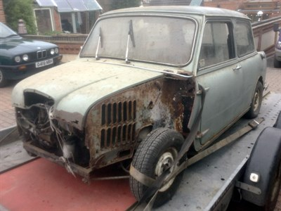 Lot 46-1966 Wolseley Hornet MKII