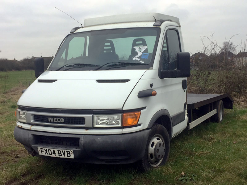 Lot 51-2004 Iveco-Ford Daily 50C13 2.8