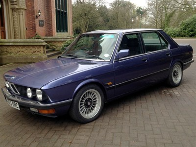 Lot 66-1984 BMW Alpina B9 3.5