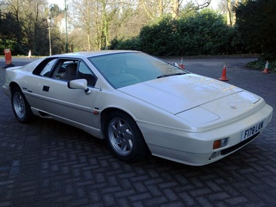 Lot 67 - 1989 Lotus Esprit Turbo