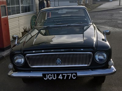 Lot 69-1965 Ford Zephyr MKIII