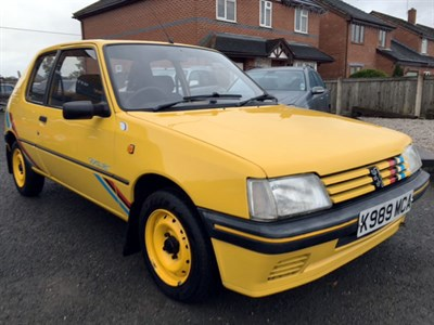 Lot 71-1993 Peugeot 205 Rallye