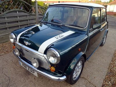 Lot 76-1990 Rover Mini Cooper RSP