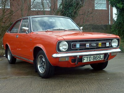 Lot 78 - 1971 Morris Marina 1.8 TC Coupe