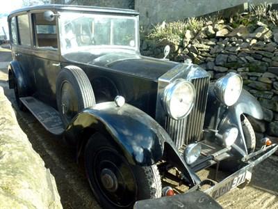 Lot 48-1933 Rolls-Royce 20/25 Limousine