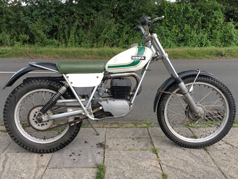 Lot 52-1976 Ossa Mick Andrews Replica 250