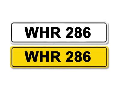 Lot 2-Registration Number WHR 286