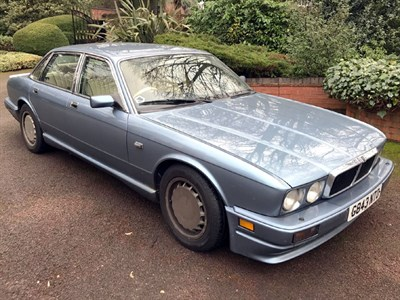 Lot 84 - 1989 Jaguar XJR 3.6