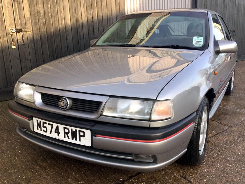 Lot 86 - 1995 Vauxhall Cavalier SRi