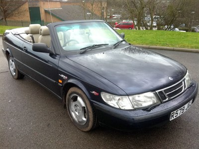 Lot 94 - 1998 Saab 900 S Convertible