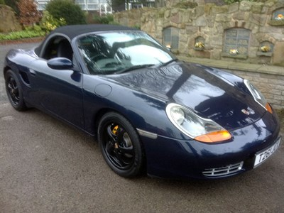 Lot 95-1999 Porsche Boxster