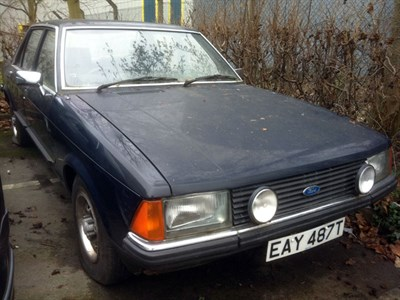 Lot 97-1979 Ford Granada 2.8 GL