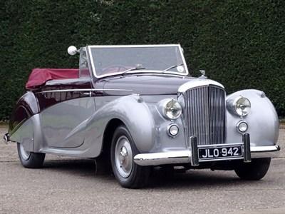 Lot 93-1947 Bentley MK VI Vanden Plas Drophead Coupe