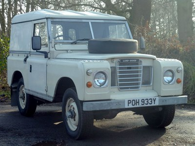 Lot 102 - 1982 Land Rover 88 Series III