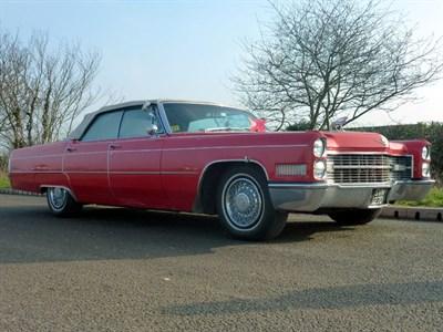 Lot 103 - 1966 Cadillac 'American' Convertible