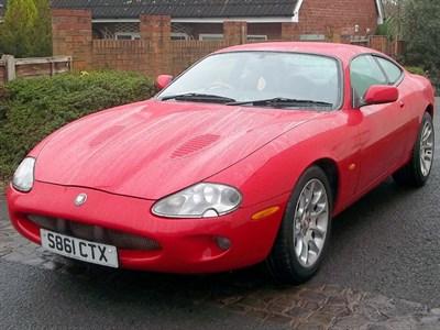 Lot 106-1998 Jaguar XKR