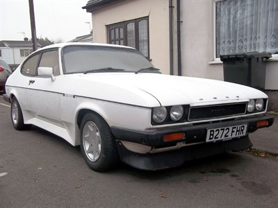 Lot 108 - 1985 Ford Capri 2.8i