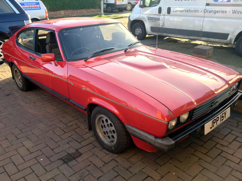 Lot 81-1983 Ford Capri 2.8i