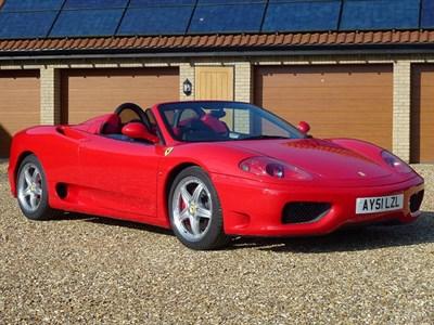 Lot 53-2001 Ferrari 360 Spider F1