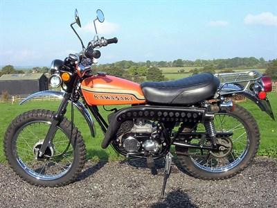 Lot 76-1971 Kawasaki G4TR