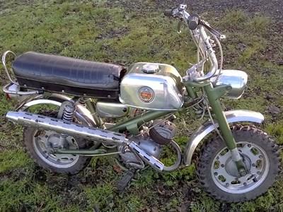 Lot 72-1970s Benelli 50cc