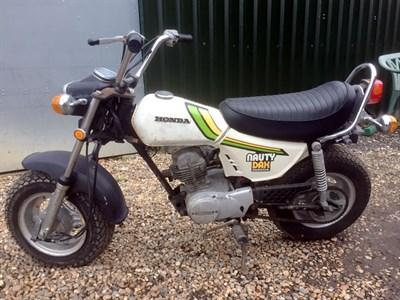 Lot 69-1977 Honda CY50 Nauty Dax