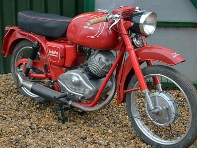 Lot 71-1960 Moto Guzzi Lodola 235 GT