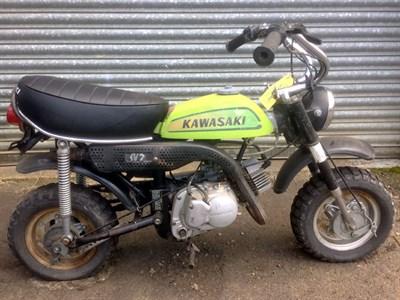 Lot 74-c.1974 Kawasaki KV75