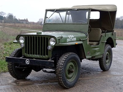 Lot 11-c.1941 Willys MB Jeep 'O.A.R.E.'