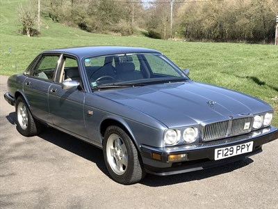 Lot 53-1988 Jaguar XJ6 2.9
