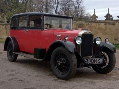 Lot 115-1929 Humber 16/50 Saloon