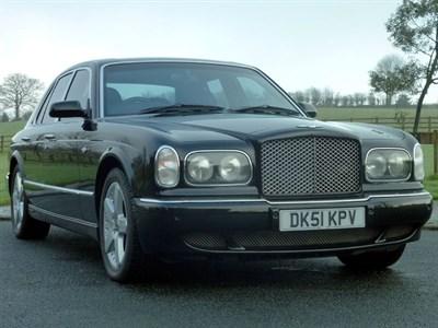 Lot 117-2001 Bentley Arnage Red Label