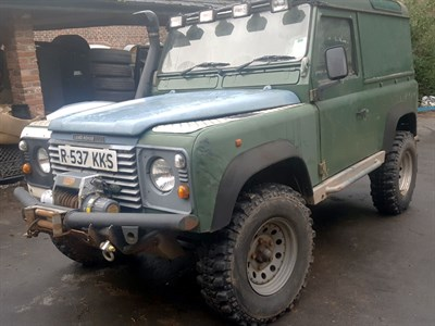 Lot 118-1997 Land Rover Defender 90 TDi