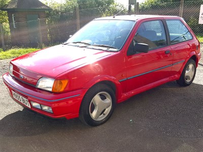 Lot 119-1990 Ford Fiesta XR2i