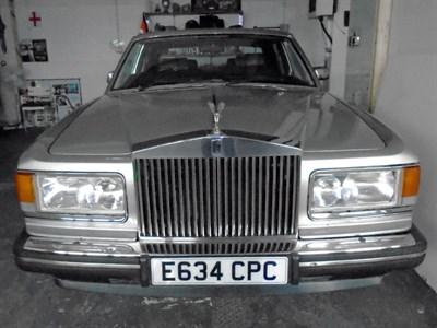 Lot 122-1988 Rolls-Royce Silver Spirit