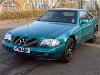Lot 125-1998 Mercedes-Benz SL 320